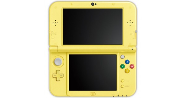 Console New Nintendo 3DS XL Yellow chu Edition on