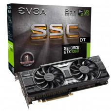 Placa de Vídeo PCI-Express 6 Gb GF GTX1060 SSC DT 1506 Mhz 192 Bits DDR5  EVGA
