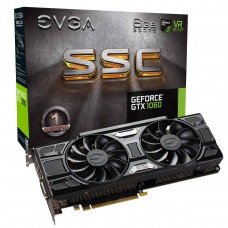 Placa de Vídeo PCI-Express  6 Gb GF GTX1060 SSC Gaming 1607 MHz 192 Bits DDR5 EVGA
